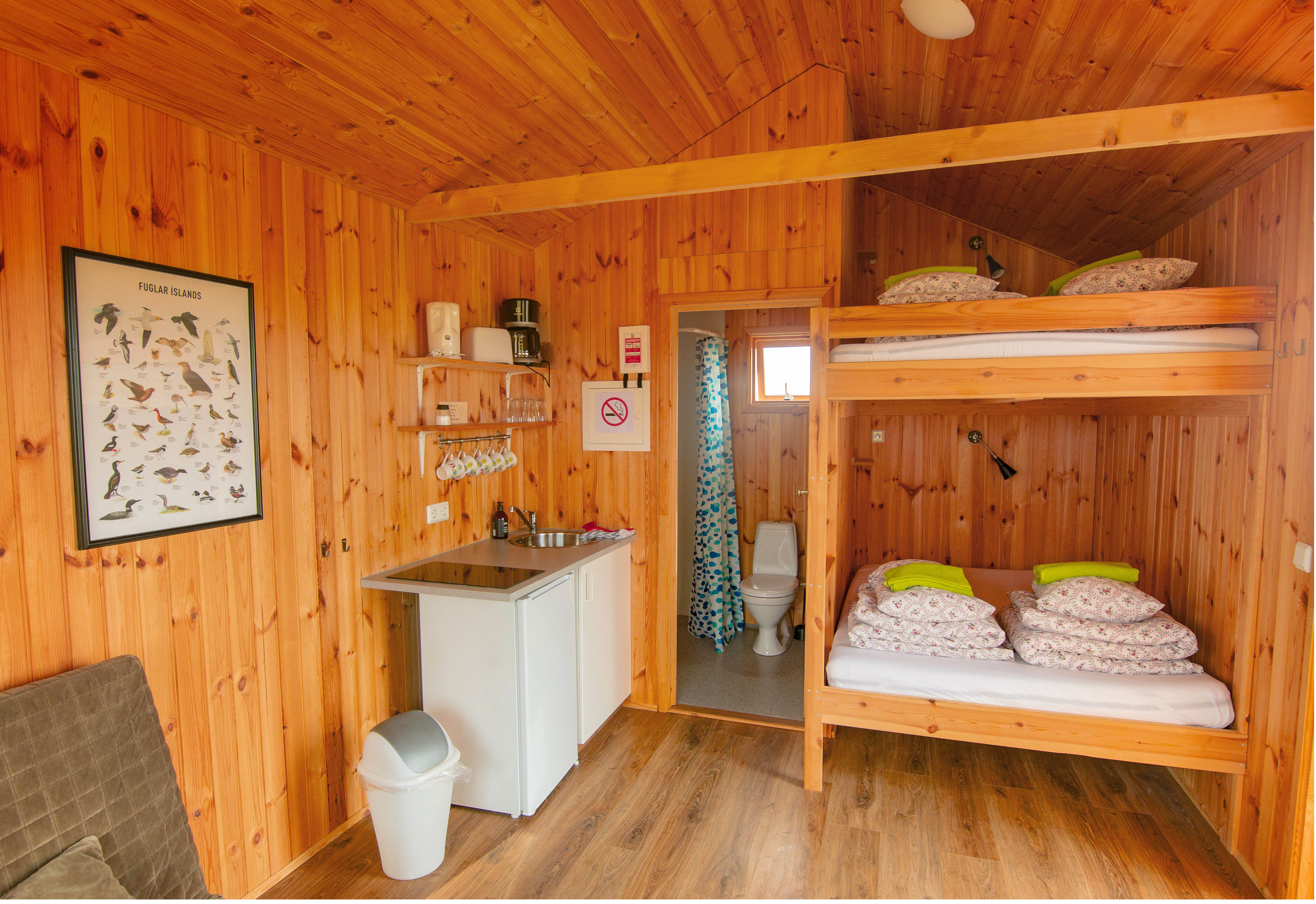 Lambhus Cabin inside