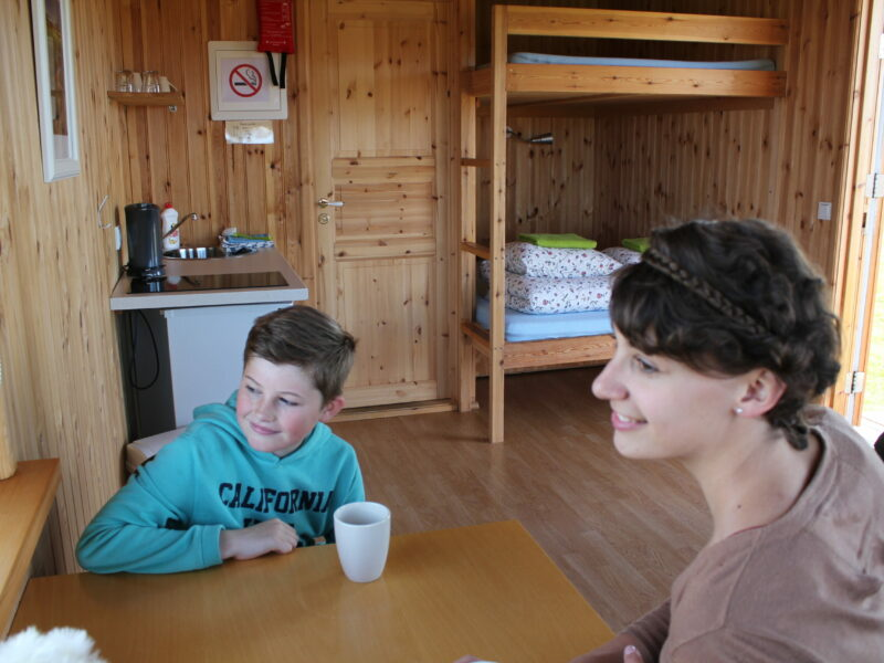 Lambhus 20m2 cabin inside smáhýsi