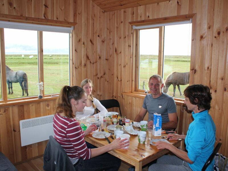 Lambhus Dining area Borðkrókur